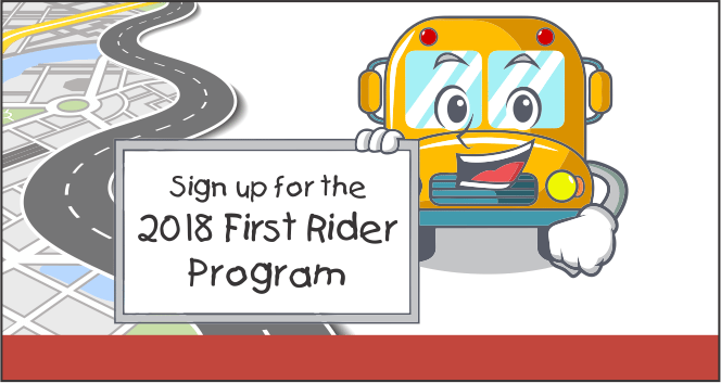 2018 First Time Rider Program
