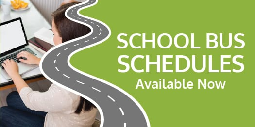Available Now: 2021-22 Student Transportation Schedules